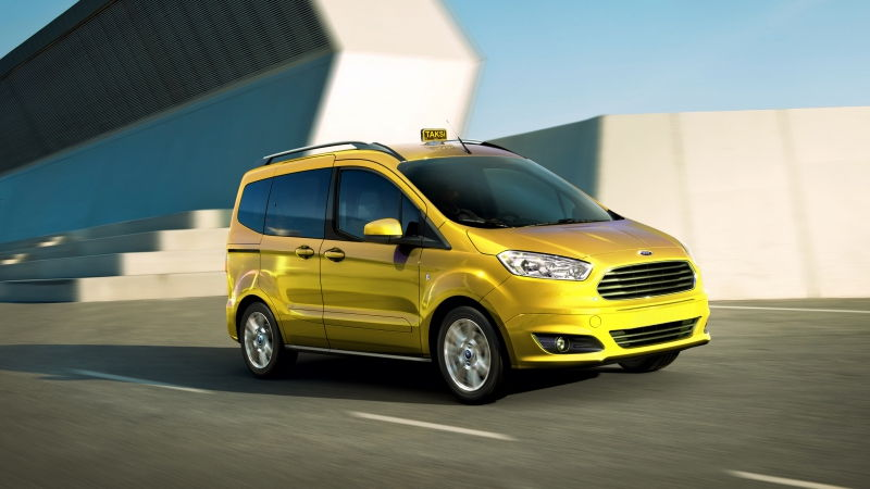 FORD TOURNEO TİTANİUM TDCİ 95 PS